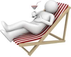 Vacances Chaise Longue