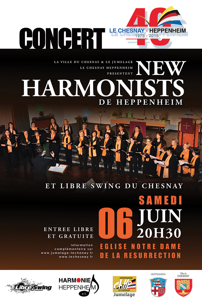 Affiche Concert 6 juin 2015